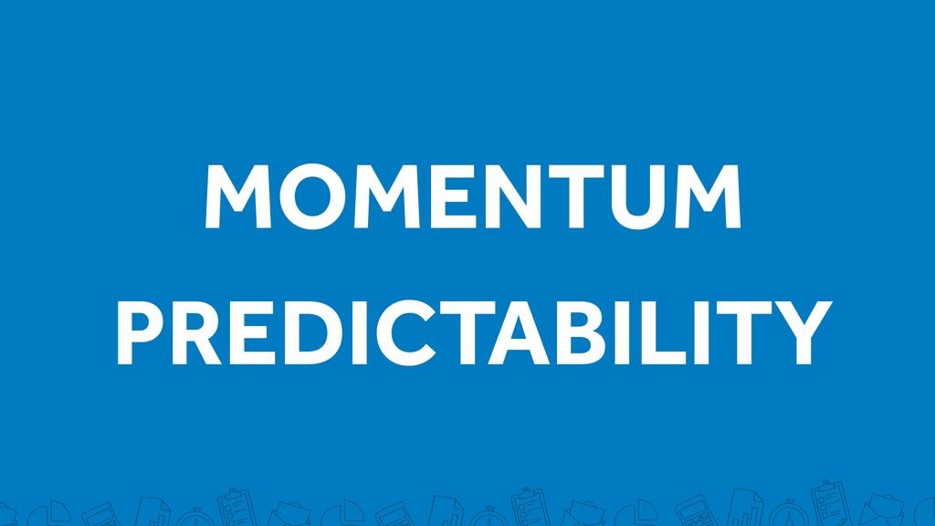MOMENTUM PREDICTABILITY