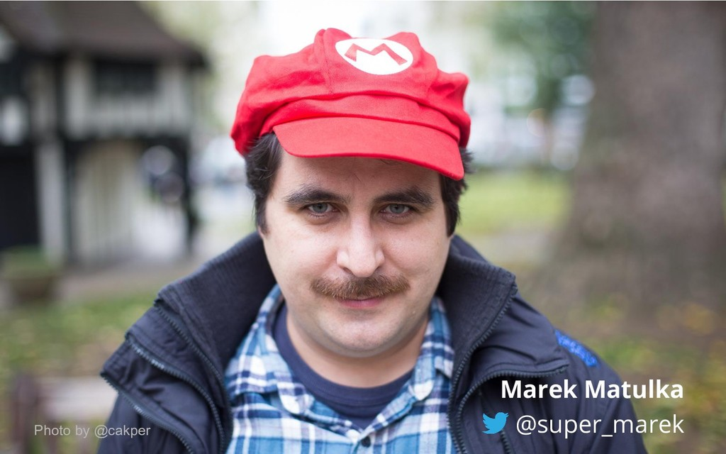 Marek Matulka @super_marek Photo by @cakper