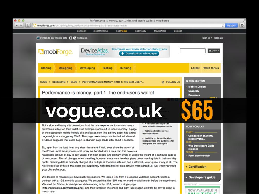 vogue.co.uk $65