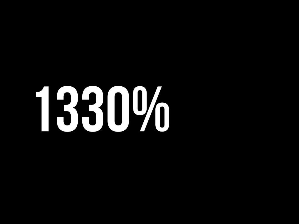 1330%