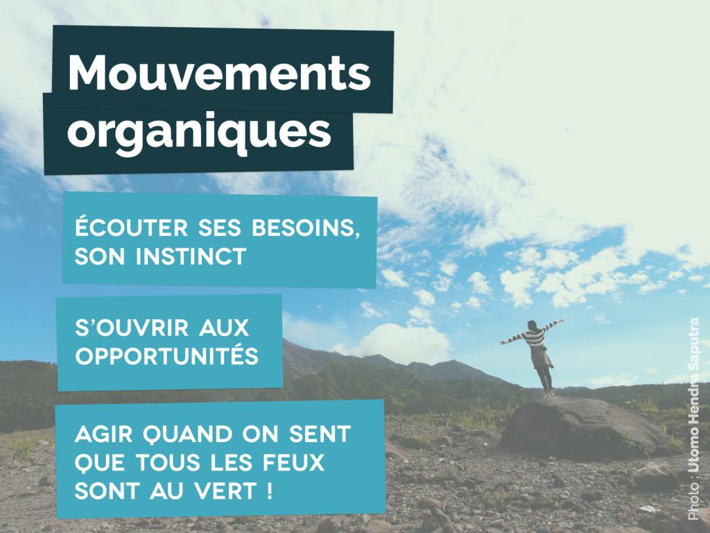Mouvements organiques s'ouvrir aux opportunités...
