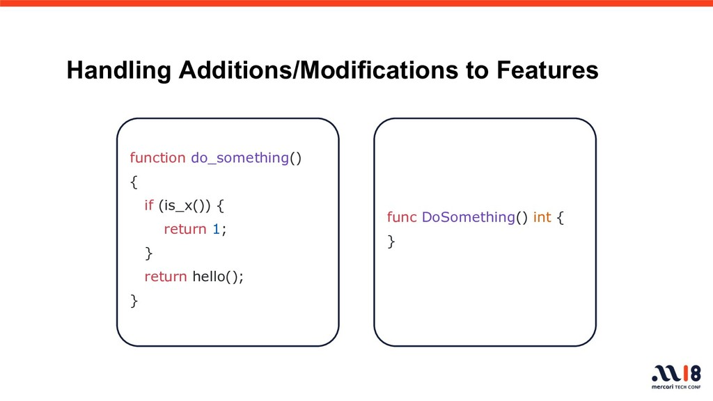 Handling Additions/Modifications to Features fu...