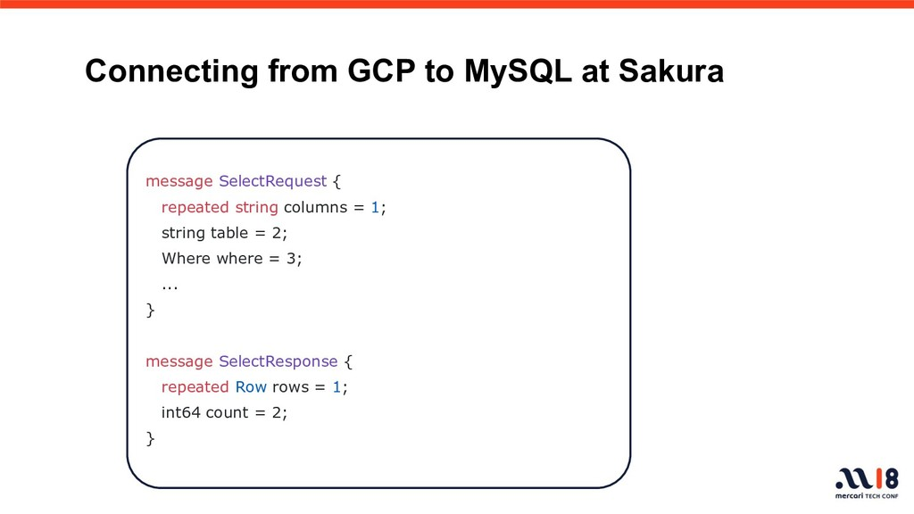 Connecting from GCP to MySQL at Sakura message ...