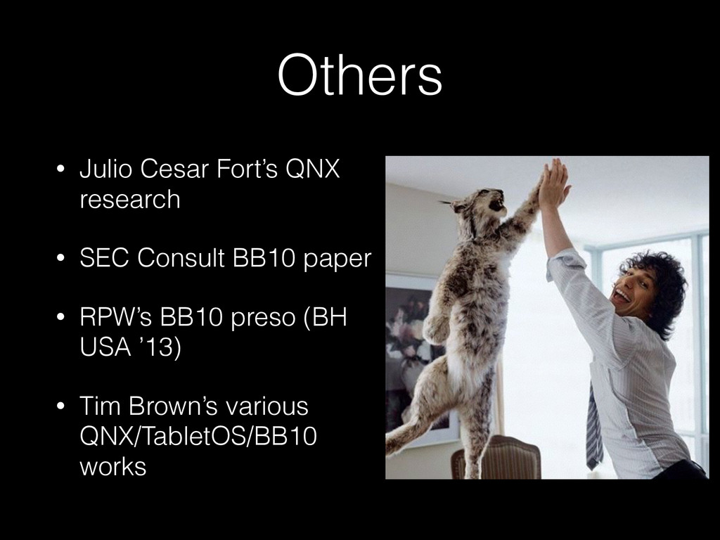 Others • Julio Cesar Fort's QNX research • SEC ...