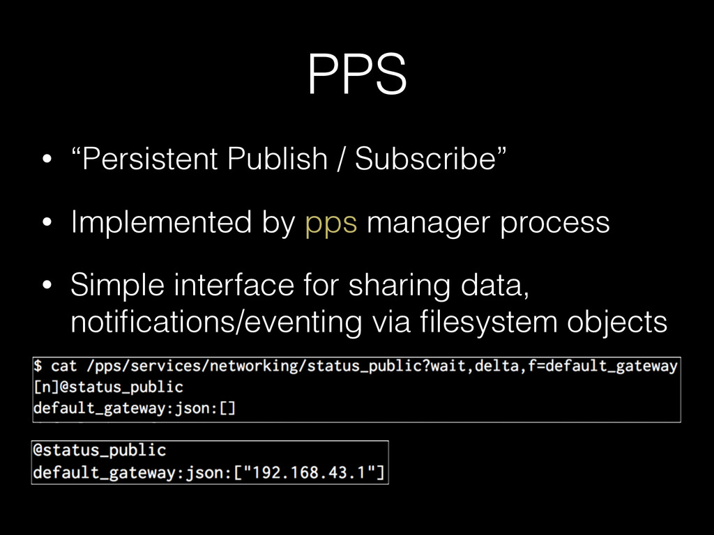 "PPS • ""Persistent Publish / Subscribe"" • Implem..."