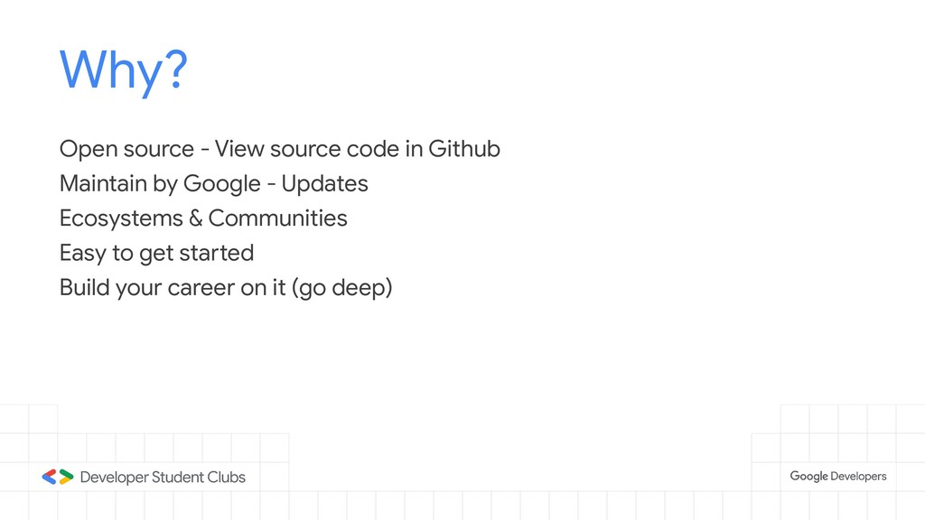 Why? Open source - View source code in Github M...