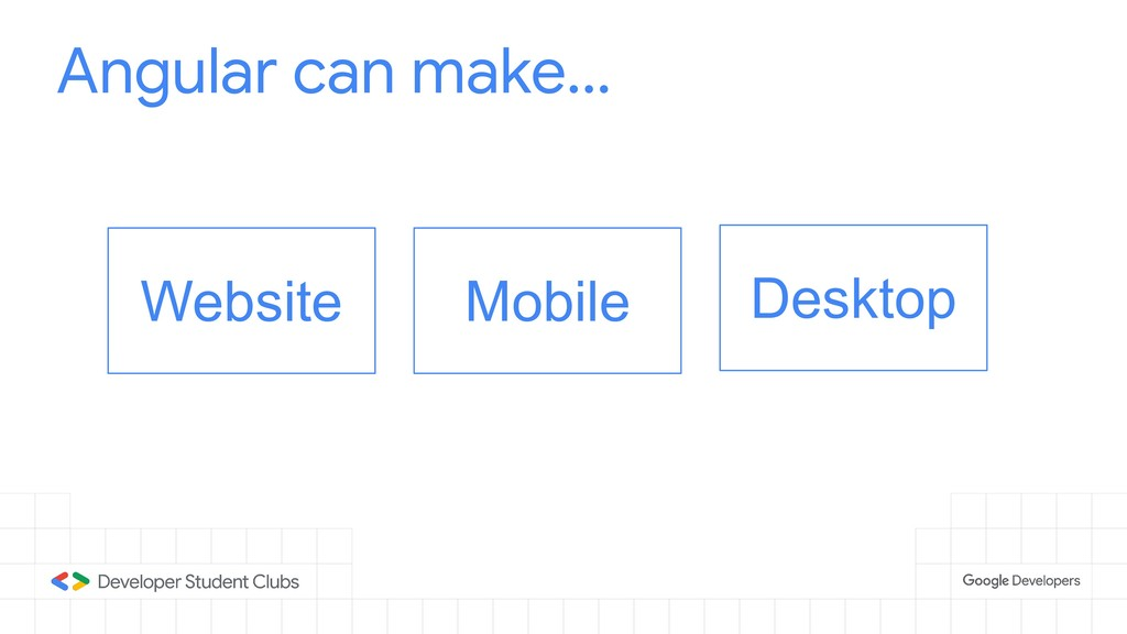 Website Mobile Desktop Angular can make...