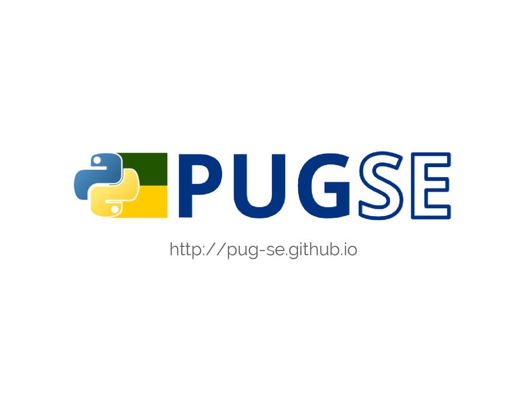 http://pug-se.github.io