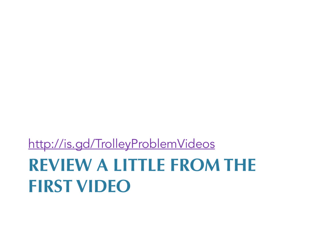 REVIEW A LITTLE FROM THE FIRST VIDEO http://is....