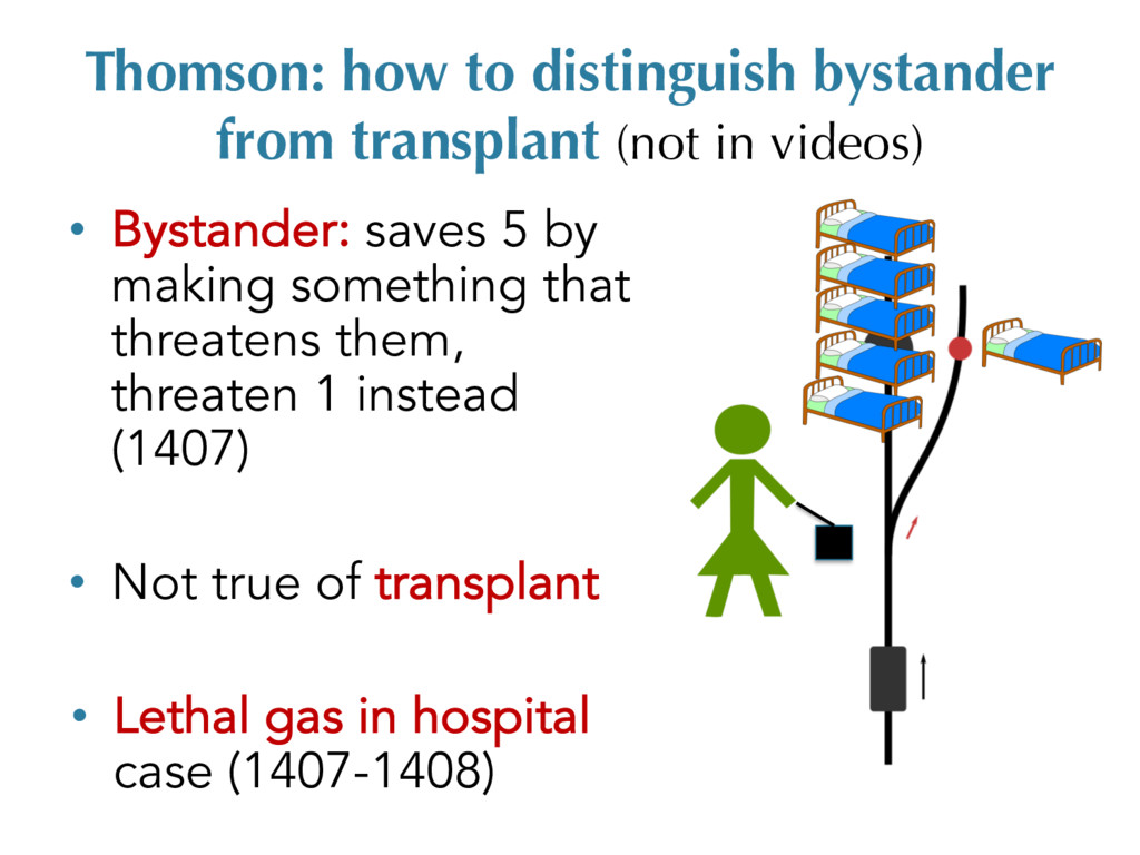 Thomson: how to distinguish bystander from tran...