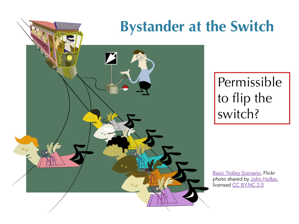 Bystander at the Switch Permissible to flip the...