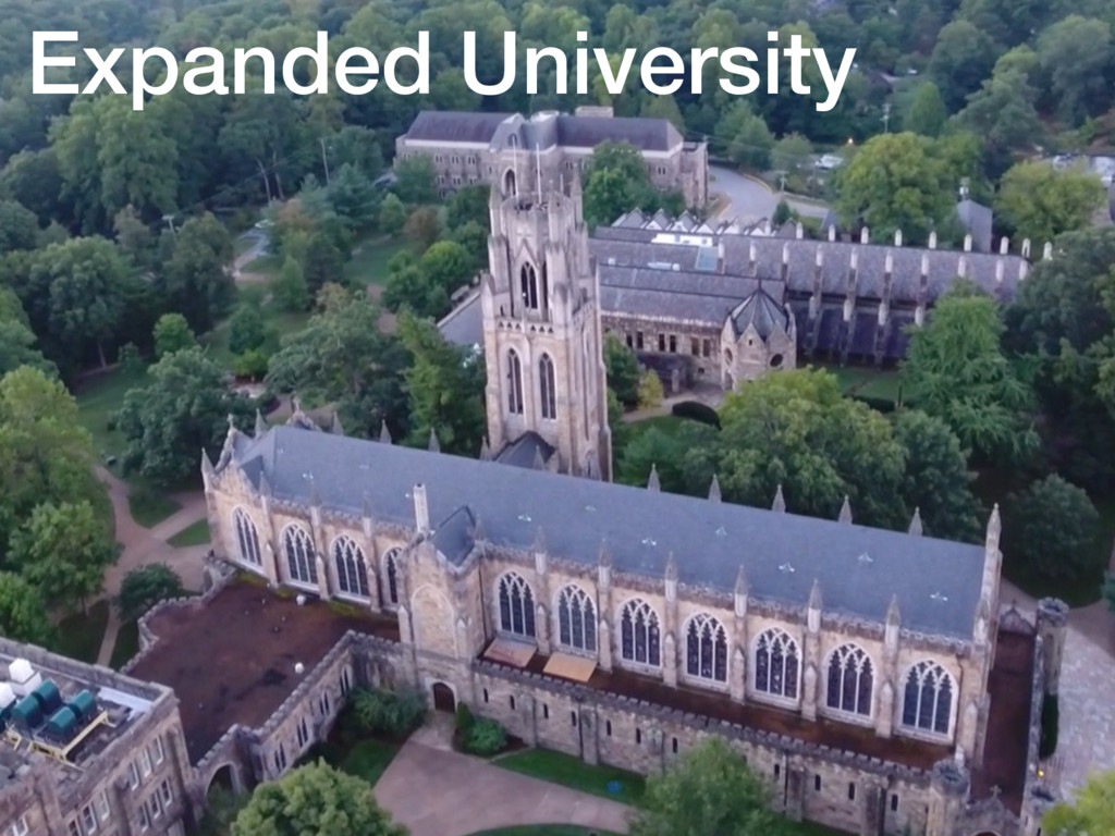 Expanded University