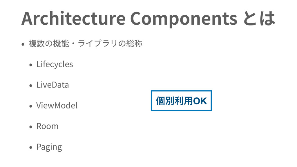 Architecture Components Lifecycles LiveData Vie...