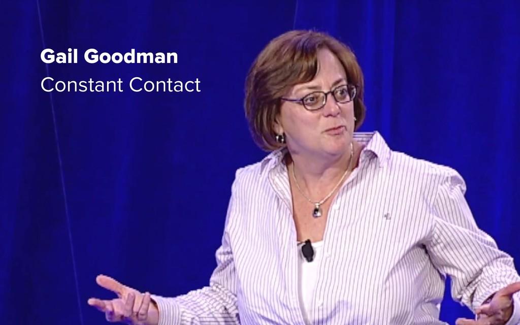Gail Goodman Constant Contact