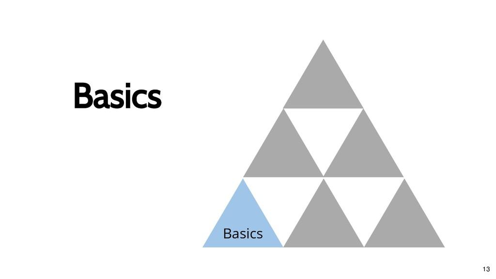 Basics Basics Basics 13