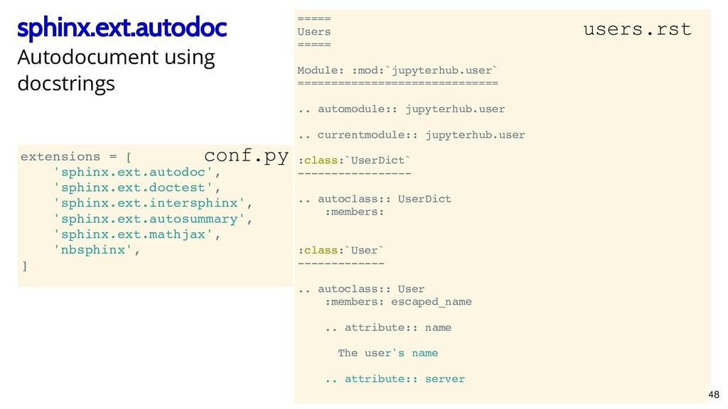 ===== Users ===== Module: :mod:`jupyterhub.user...