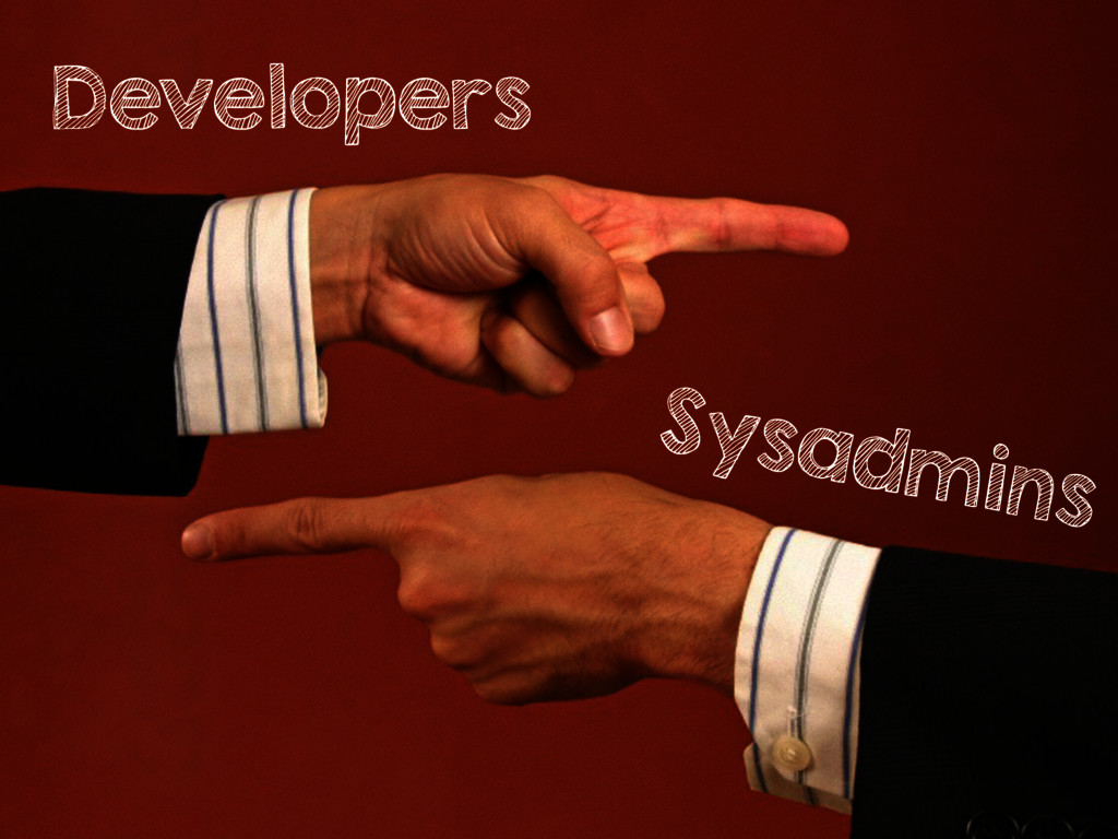 Developers Sysadmins