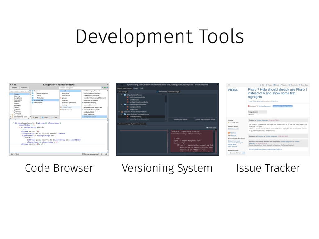 Development Tools Code Browser Versioning Syste...