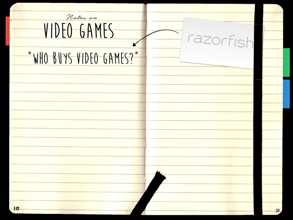 "VIDEO GAMES Notes on ""WHO BUYS VIDEO GAMES?"""