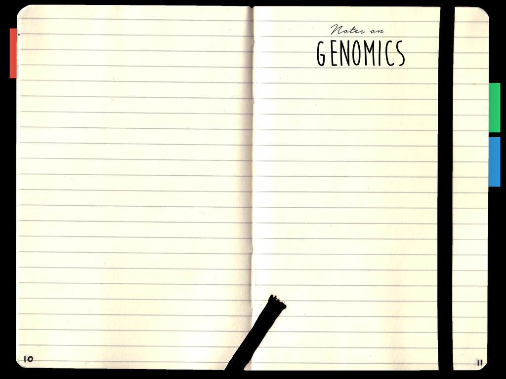 GENOMICS Notes on