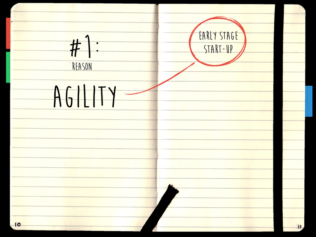 AGILITY EARLY STAGE START-UP REASON #1: