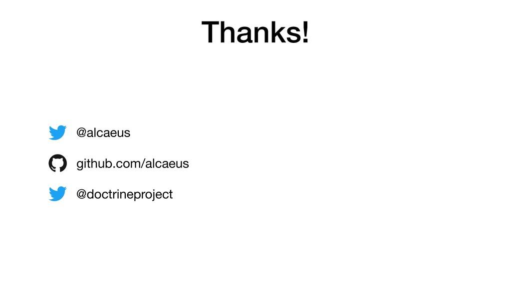 Thanks! @alcaeus  github.com/alcaeus  @doctrine...