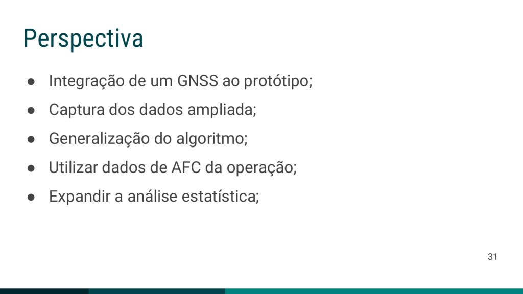 ● Integração de um GNSS ao protótipo; ● Captura...