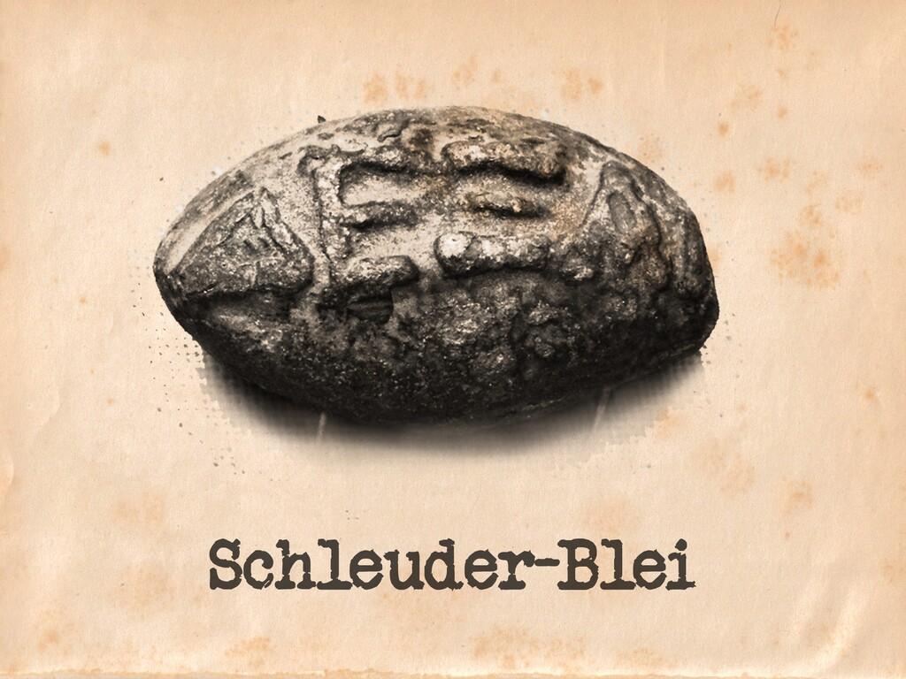 Schleuder-Blei