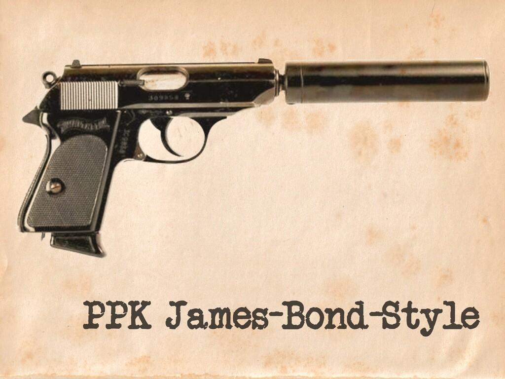 PPK James-Bond-Style