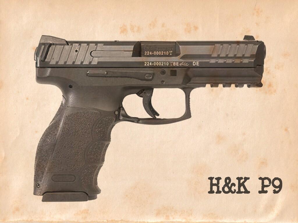 H&K P9