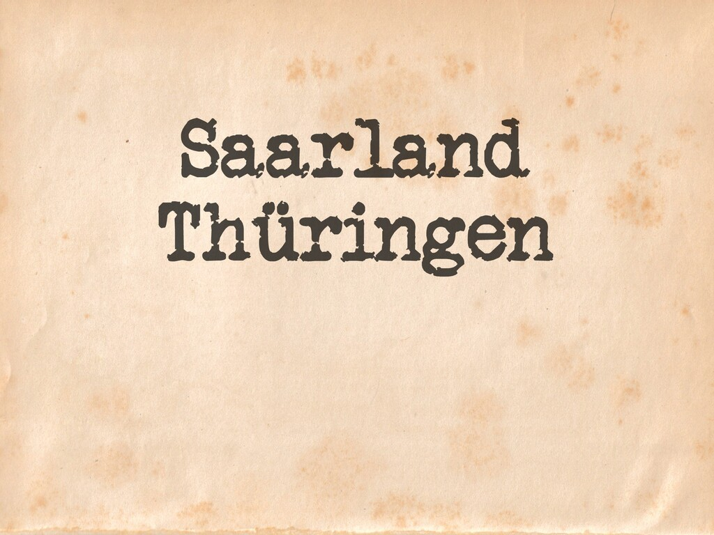 Saarland Thüringen