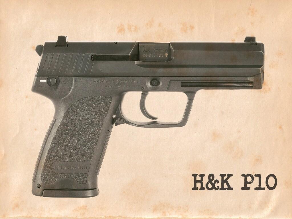 H&K P10