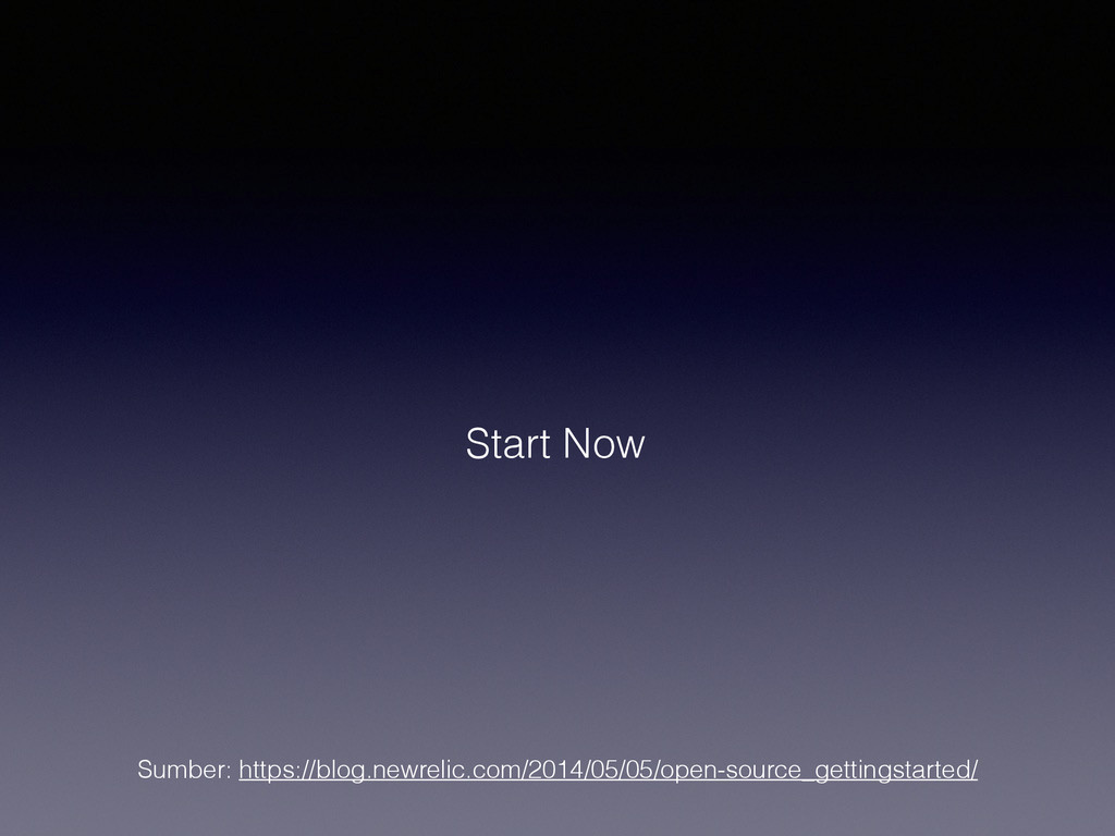 Start Now Sumber: https://blog.newrelic.com/201...