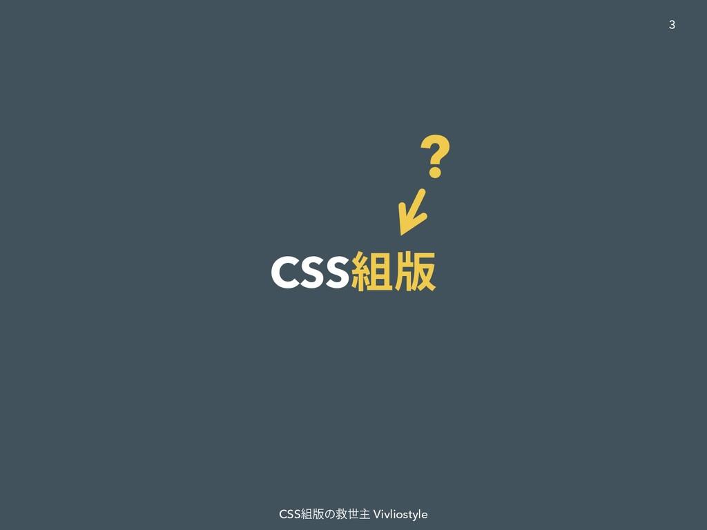 CSS組版 CSS組版の救世主 Vivliostyle 3 ?