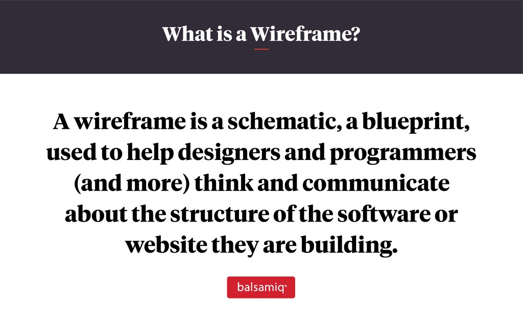 What is a Wireframe? A wireframe is a schematic...