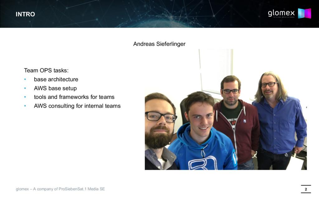 2 glomex – A company of ProSiebenSat.1 Media SE...