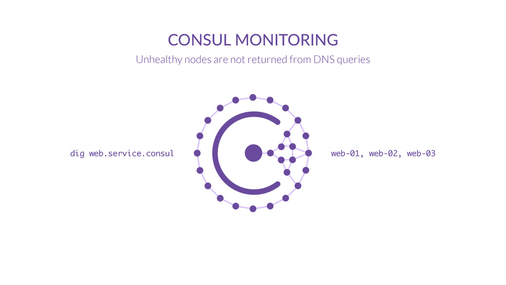 CONSUL  MONITORING Unhealthy nodes are not retu...