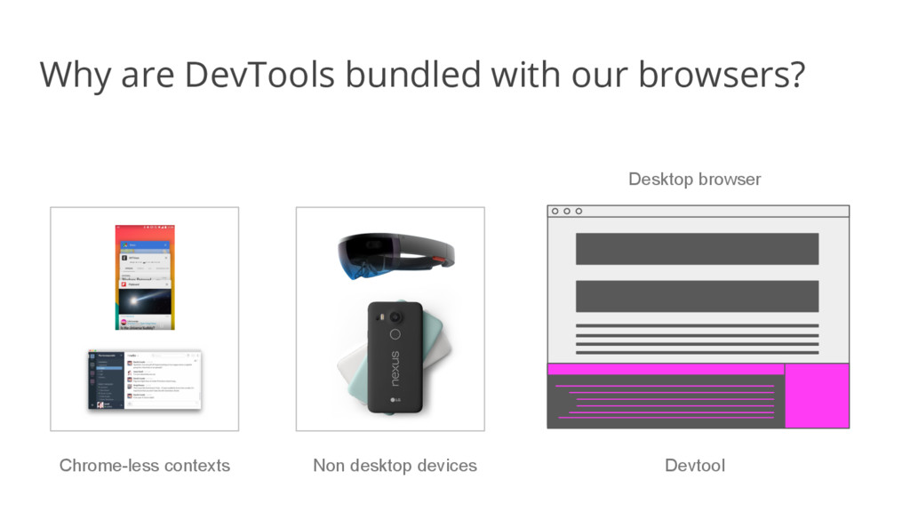 Why are DevTools bundled with our browsers? Des...