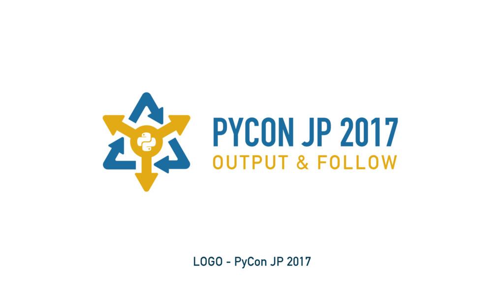 LOGO - PyCon JP 2017
