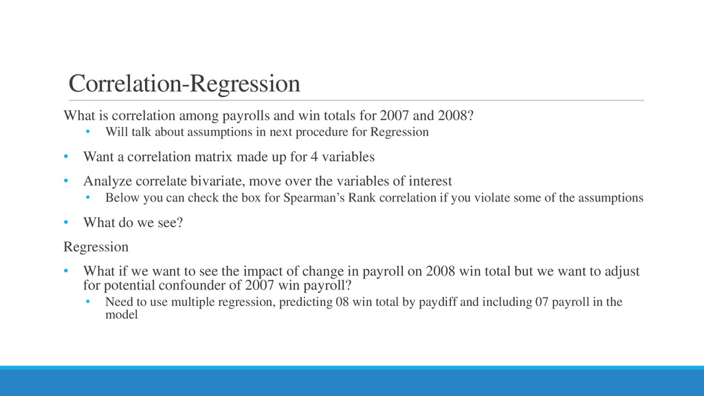 Correlation-Regression What is correlation amon...