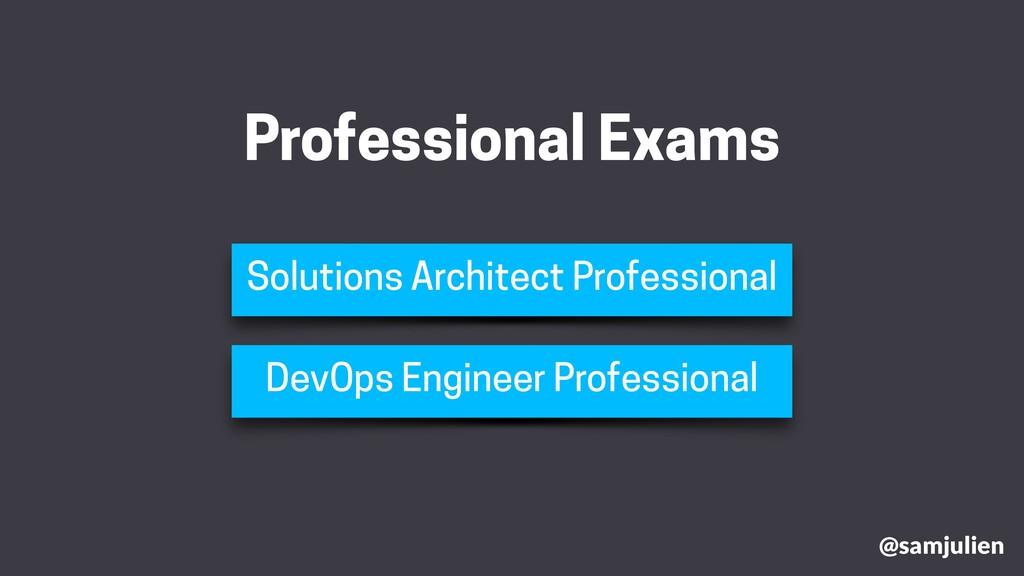 @samjulien Professional Exams Solutions Archite...