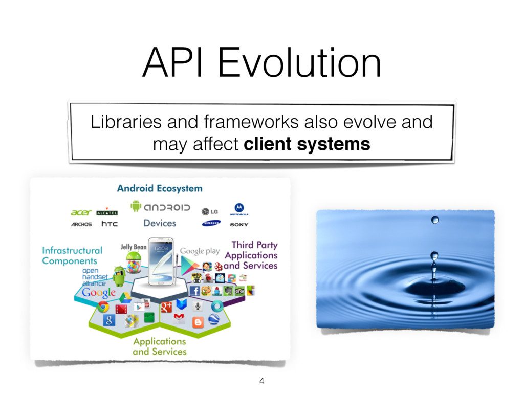 4 Libraries and frameworks also evolve and may ...
