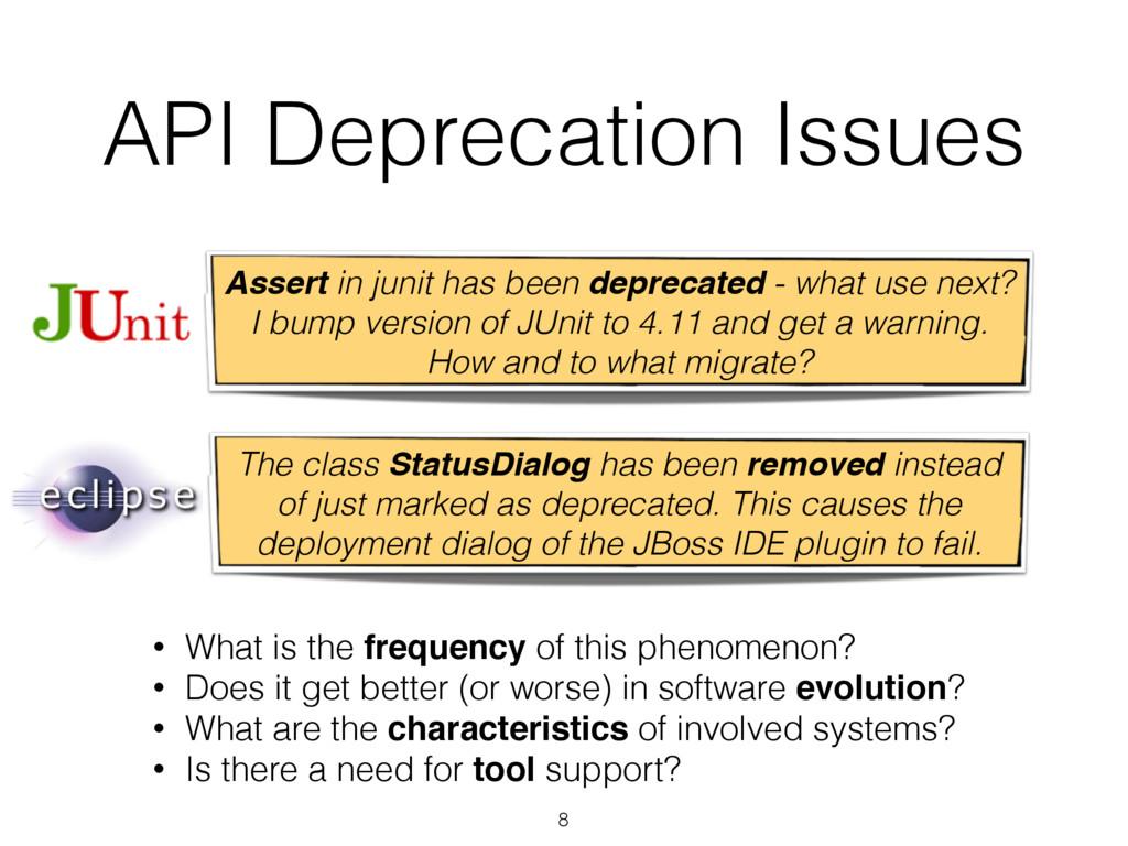 8 Assert in junit has been deprecated - what us...