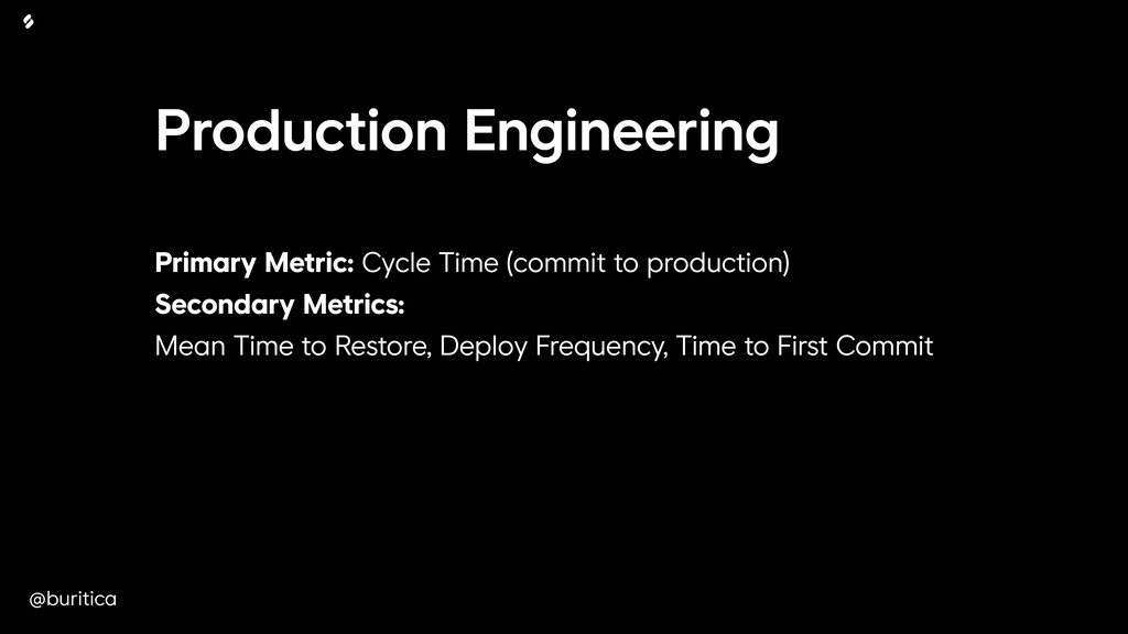 @buritica Production Engineering Primary Metric...