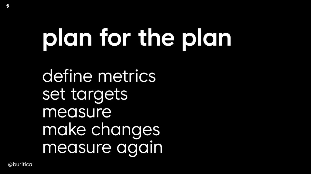 @buritica plan for the plan