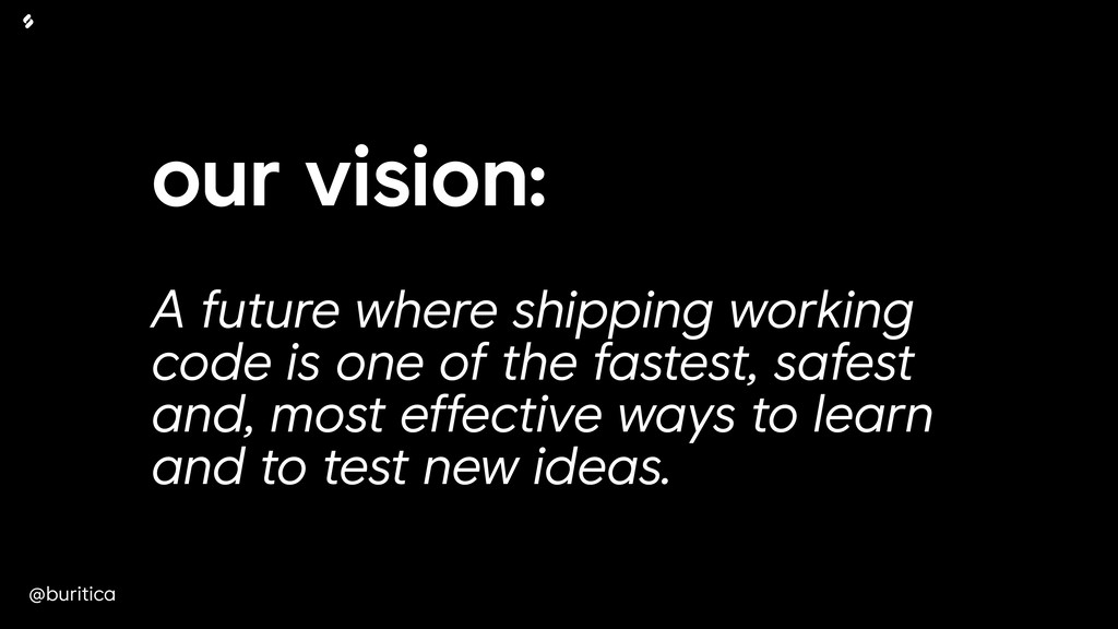 @buritica our vision: 