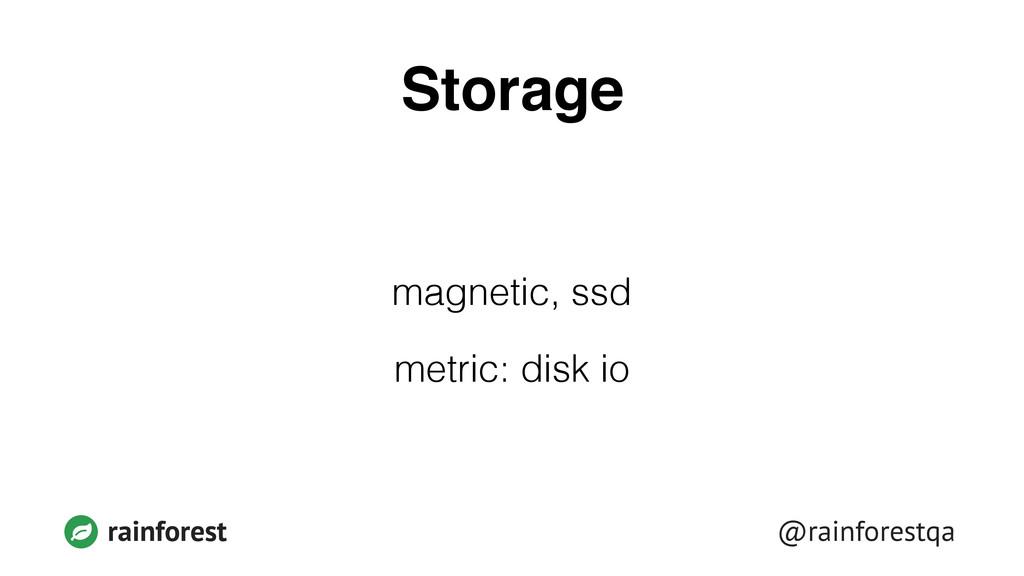 @rainforestqa rainforest Storage magnetic, ssd ...