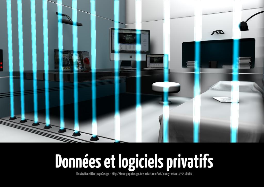 Données et logiciels privatifs Illustration : i...