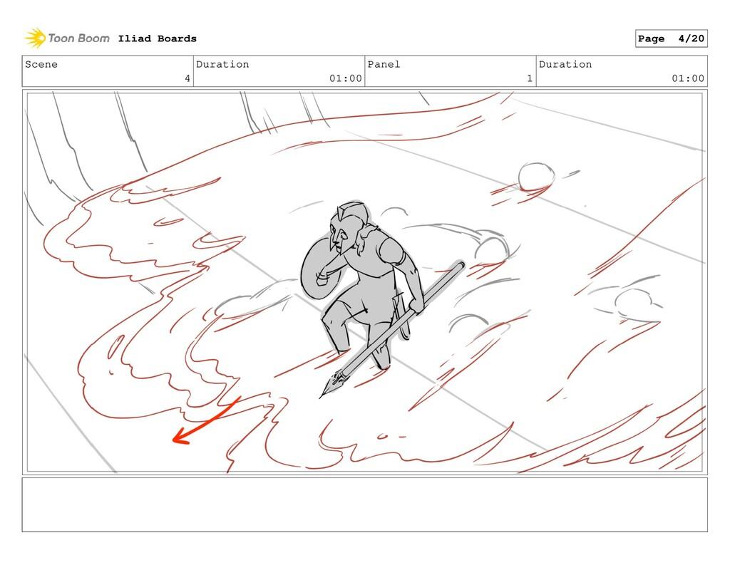 Scene 4 Duration 01:00 Panel 1 Duration 01:00 I...
