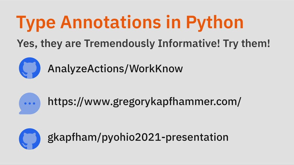 Type Annotations in Python Yes, they are Tremen...
